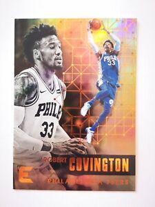 Panini Essentials 2017-18 card carte NBA Philadelphia 76ers 135 Robert Covington