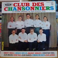 JEAN JACQUES VITAL LE CLUB DES CHANSONNIERS/JEAN AMADOU FRENCH LP PHILPS