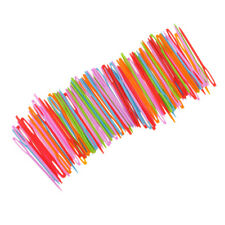 100pcs Plastic Hand Sewing Needles Yarn Darning Tapestry Craft For Children