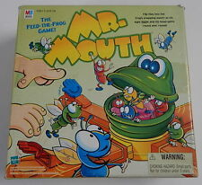 Mr. Mouth Game Feed the Frog Flies 1999 Milton Bradley COMPLETE & WORKS! R12338