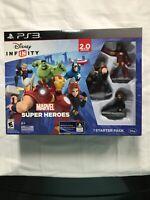 Disney Infinity 2.0 Edition Marvel Super Heroes PS3 Starter Pack