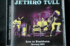 Jethro Tull Live In Stockholm January 1969 CD New!