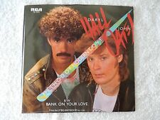 "Hall & Oates ""M E T H O D Of Modern L O V E/Bank On Your Love"" PS 45 RPM"
