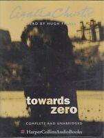 Agatha Christie Towards Zero 4 Cassette Audio Book Unabridged Crime FASTPOST