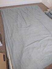 John Lewis extra large custom made curtains Duck Egg