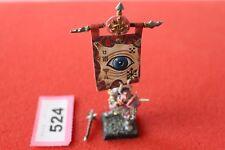 Juegos taller Warhammer Caos ejército abanderado Slaanesh Edición limitada Fuera de imprenta