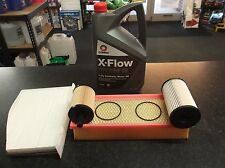 SKODA OCTAVIA (1Z) 1.9 2.0 TDI SERVICE KIT OIL FUEL AIR CABIN FILTERS - 5L XFLOW