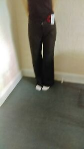 Amazing Woman Black Linen Trouser Size 16/35in new with tags