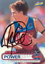 ✺Signed✺ 2001 BRISBANE LIONS AFL Premiers Card LUKE POWER