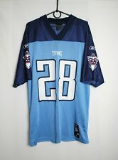 Tennessee Titans №28 Johnson Reebok Jersey Size M