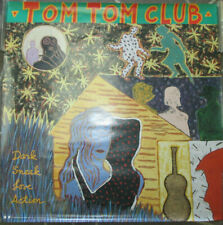 Tom Tom Club Dark Sneak Love Action, promo poster, 1992, 23x23,Vg+,Talking Heads