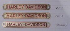 Name tag for HARLEY-DAVIDSON® Police Siren * '49 REAR*