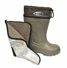 Marlin Insulated Liner Fishing Deck Waterproof Boat Boots Green 11 NEW