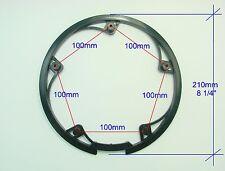Bike Chainring Chain Guard, 48T, BCD 100mm - 5 bolts, NEW-M