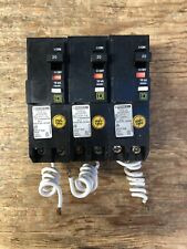 NEW SQUARE D QO220CAFI 2 POLE 20 AMP 120/240V COMBINATION ARC FAULT BREAKER 20A