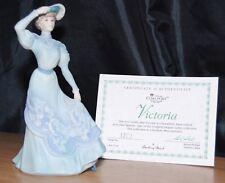 Coalport & Danbury Mint Victoria Figurine Elegant Ladies Collection