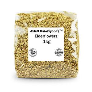 Elderflower Tea Dried Flowers Elder Herbal Tea Brew Premium Quality! 25g-2kg