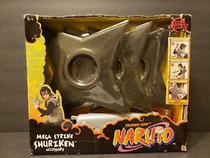 Shonen Jump Naruto Mega Strike Shuriken Accessory Epic Combat Mattel Cosplay