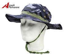 Military Bucket USMC Boonie Hat Fishing Hunting Outdoor Cap British Ocean Camo