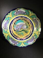 """Rosenthal RARE Horoscope Bjørn Wiinblad Art Plate Danish Modern Boar 12"""" 1983"""