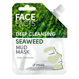 Seaweed Mud Mask - Deep Cleansing - Vegan - Face Facts - 60ml