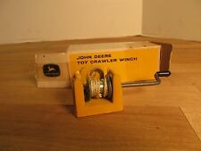 Ertl John Deere Toy Crawler Winch for Bulldozer in Original Box