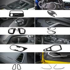 Carbon Fiber Interior Decoration Trim Kit For Chevrolet Camaro 2017 2018 13PCS