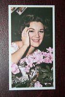 Connie Francis     Pop Singer   Original 1960's Colour Photo Card