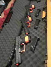 Airsoft 3 H&K MK23 Socom Spring Pistols W/mags .