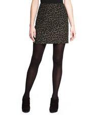 Petite Animal Jacquard Print Mini Skirt Marks & Spencer Ladies Size 6 Box4122 I