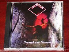 Trauma: Scratch And Scream CD Reissue Lost Gems Australia LG 628-14 NEW