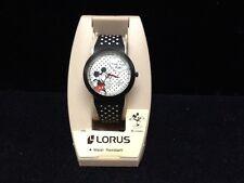 Unique Mickey Mouse Lorus Quartz Watch NEW