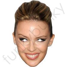 Kylie Minogue Celebridad Tarjeta Máscara-todas nuestras máscaras son pre-corte!