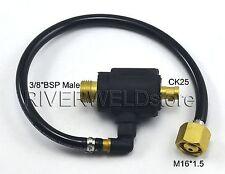 """Empalme de cables cambiar masculino 3/8""""BSP, CK25 y M16*1.5 para WP-17 TIG Soldadura Antorcha"""