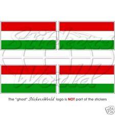 5cm Bandiera Ungherese UNGHERIA MAGYAR PARAURTI-Casco Adesivo