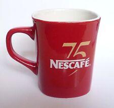 NESCAFE COFFEE Red Mug Cup 75 Years NESCAFE MALAYSIA Promotional 2013 Nestle