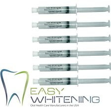 -60ML CARBAMIDE PEROXIDE 18% - HOME BLEACHING TOOTH WHITENING - *HUGE 6X10ML*