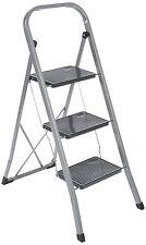 Trittleiter 3 Stufig Klapptritt Klappleiter Haushalt Leiter Stehleiter 150kg