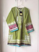 khaadi embroidered green kurta, size X large, UK size 18, ( Khaadi size 14) BNWT