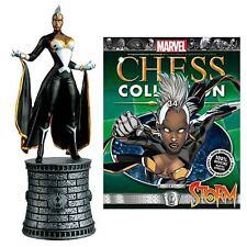 Eaglemoss * Storm * #34 Marvel Comics X-Men Chess Board Magazine White Bishop