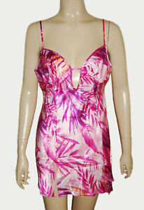 Frederick's of Hollywood, Above Knee Sexy Satin Baby Doll Nightgown