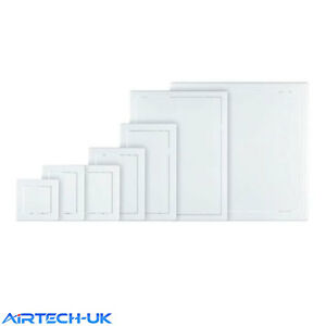 Access Panel White Inspection Hatch Plastic Revision Door 150mm 200mm 250mm New