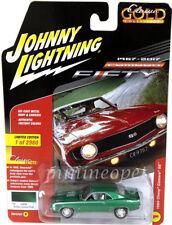 JOHNNY LIGHTNING JLCP7053 B 1969 CHEVROLET CAMARO SS 1/64 RALLYE GREEN POLY