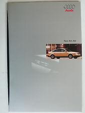 Prospekt Audi Taxi A4 Limousine und Avant, A6, 4.1997, 32 Seiten