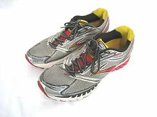 Men's BROOKS GHOST 6 - SILVER & RED - Running Shoes - Size 12.5 M