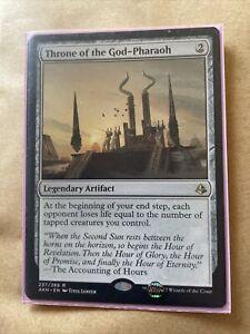 Throne of the God-Pharaoh ~ Amonkhet [ Excellent+ ] [ Magic MTG ]