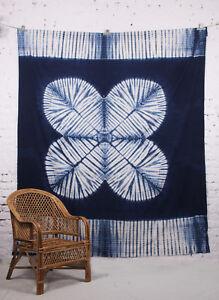 Tye & Dye Sibori Tapestry Wall Hanging Throw Mandala Bedspreads