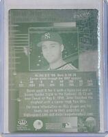 1/1 DEREK JETER 1998 PACIFIC ONLINE PRINTING PLATE CARD #505 NY YANKEES 1 OF 1