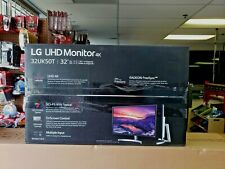 "LG 32UK50T-W 32"" Class 4K UHD FreeSync Monitor"