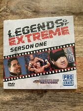 Wrestling Network Legends Of Extreme Season 1 DVD PWC EXCLUSIVE